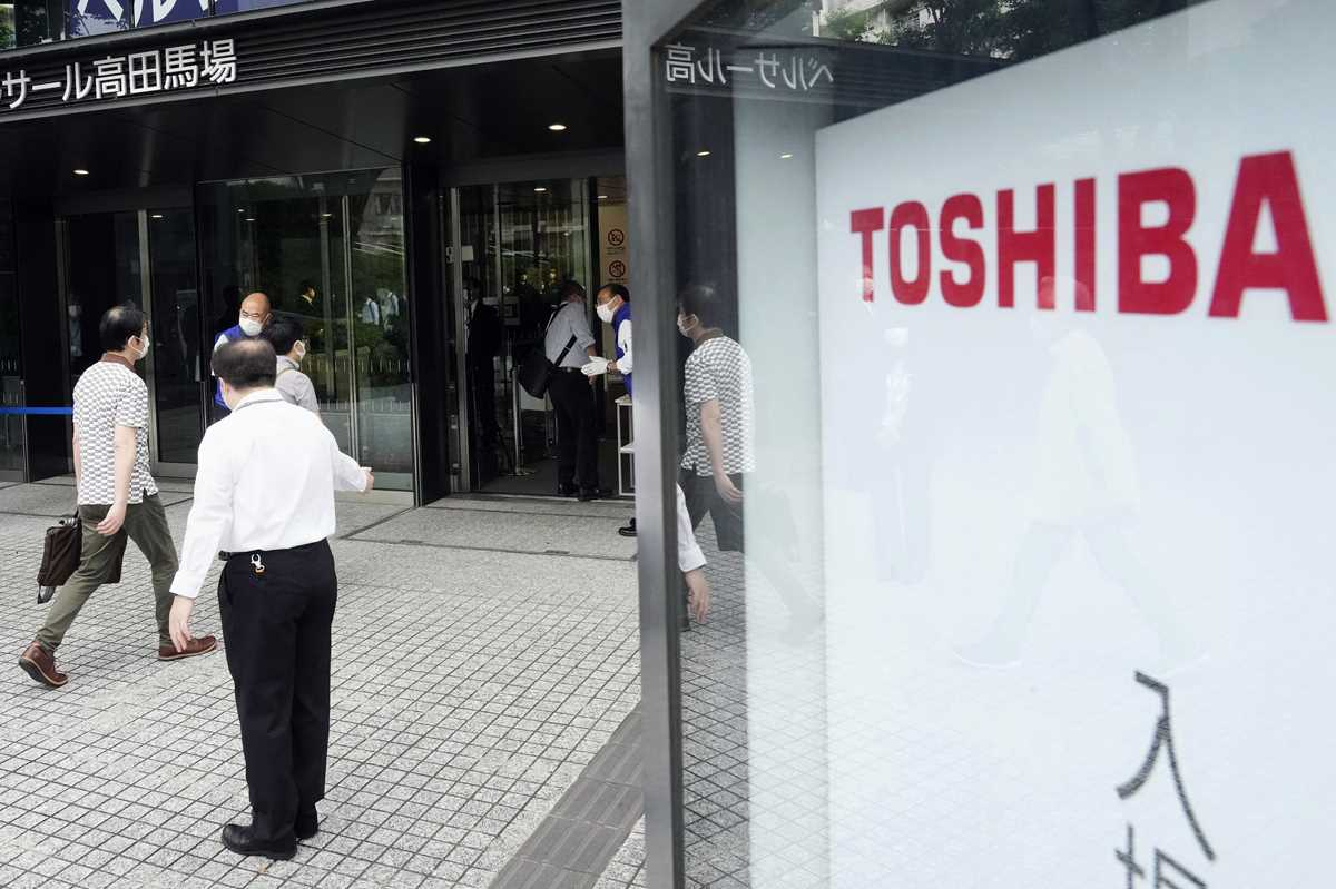 japans toshiba chairman fails to win shareholder approval 1624600131 358068210