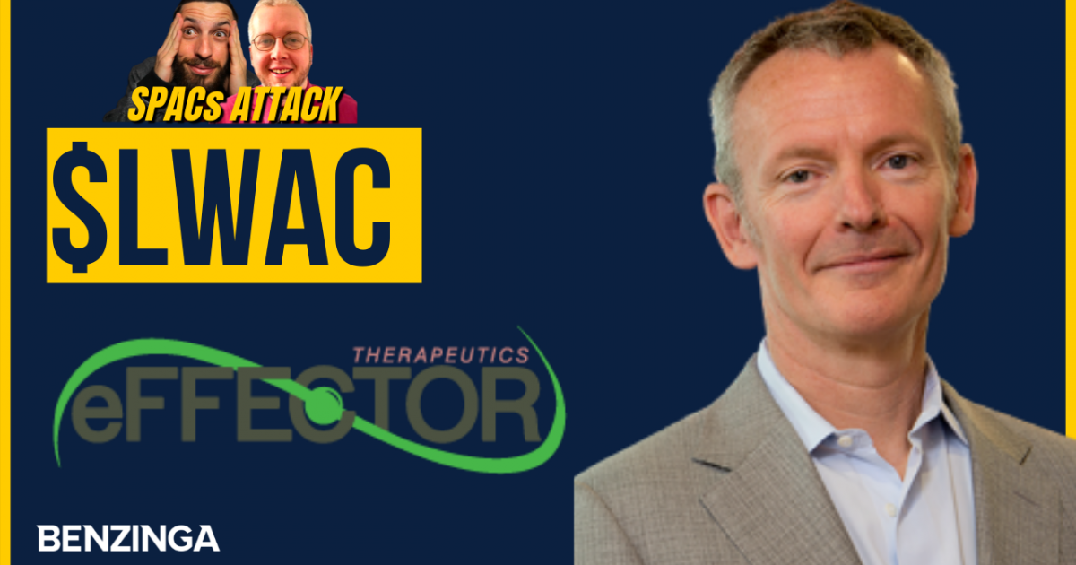(LWAC), Pfizer, Inc. (NYSE:PFE) – EXCLUSIVE: eFFECTOR, Locust Walk Acquisition CEOs On SPAC Deal, Drug Pipeline